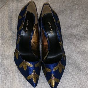 Nine West bumble bee heels